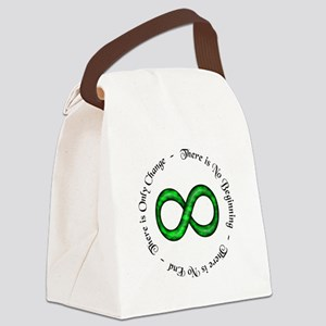 Infinite Change Canvas Lunch Bag