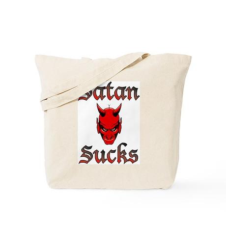 Satan Sucks 5 Tote Bag