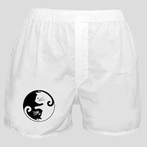 YIN YANG CUTE CATS Boxer Shorts
