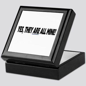Yes, they are all mine! Keepsake Box