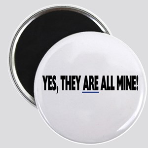 Yes, they are all mine! Magnet