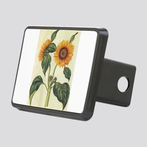 Sunflower Rectangular Hitch Cover