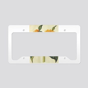 Sunflower License Plate Holder