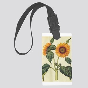 Sunflower Large Luggage Tag