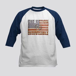 One Nation Indivisible Kids Baseball Jersey