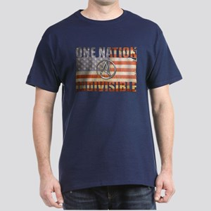 One Nation Indivisible Dark T-Shirt