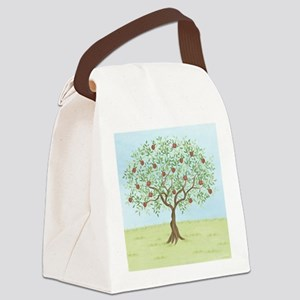 Apple Tree Canvas Lunch Bag