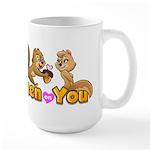 Keen On You Large Mug