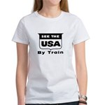 See The USA By Train ! Women's T-Shirt