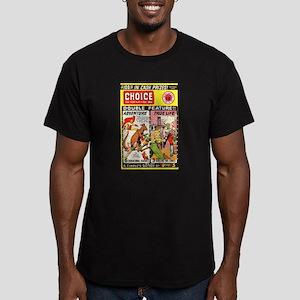 Choice Comics #2 Men's Fitted T-Shirt (dark)