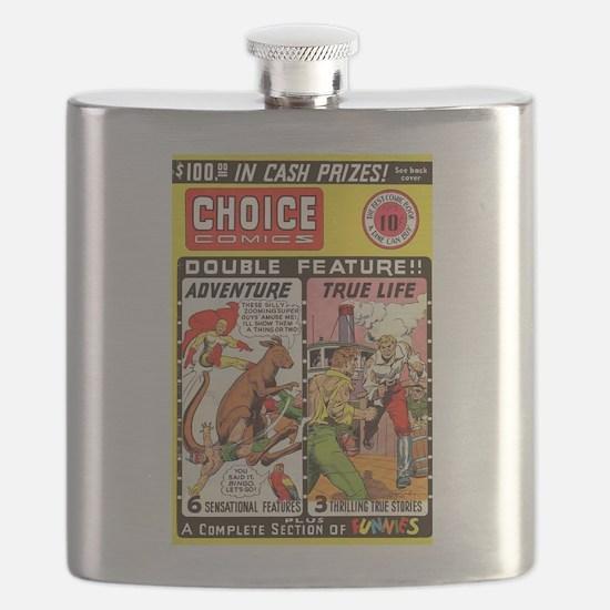 Choice Comics #2 Flask