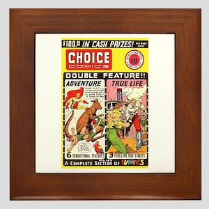 Choice Comics #2 Framed Tile