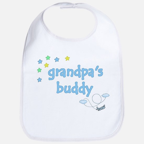 Grandpa's Buddy Star Pilot Bib