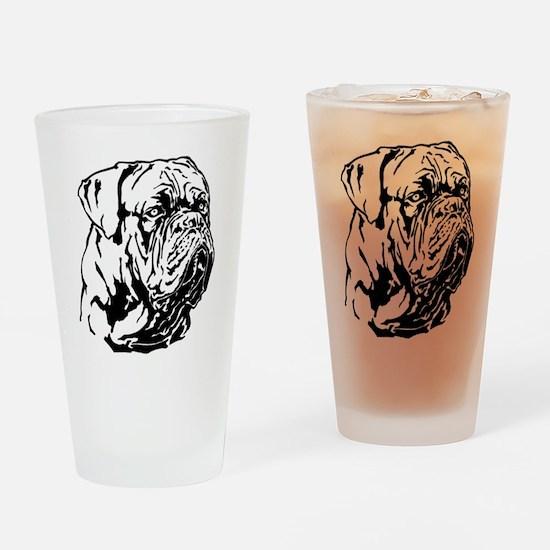 Dogue De Bordeaux. Drinking Glass