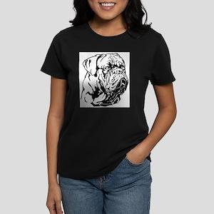 Dogue De Bordeaux. Women's Dark T-Shirt