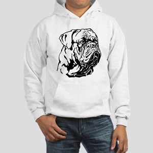 Dogue De Bordeaux. Hooded Sweatshirt