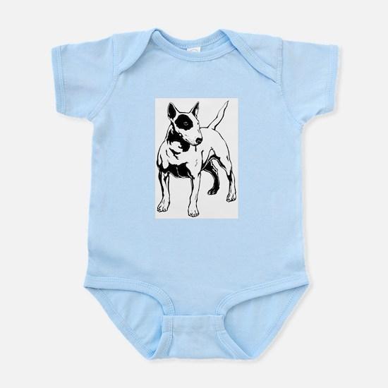 English Bull Terrier Infant Bodysuit