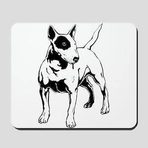English Bull Terrier Mousepad