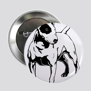 "English Bull Terrier 2.25"" Button"