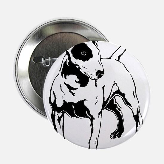 "English Bull Terrier 2.25"" Button"