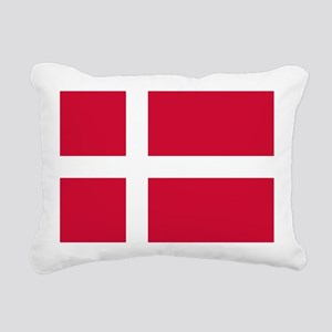 Flag of Denmark Rectangular Canvas Pillow