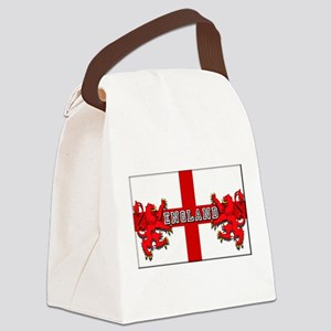 England Lion Flag Canvas Lunch Bag