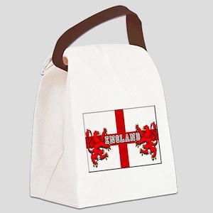England Lion Flag Canvas Lunch Bag