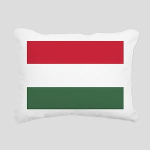 Flag of Hungary Rectangular Canvas Pillow