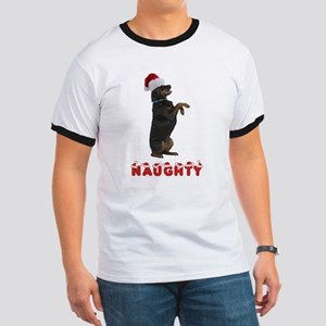Naughty Rottweiler Ringer T
