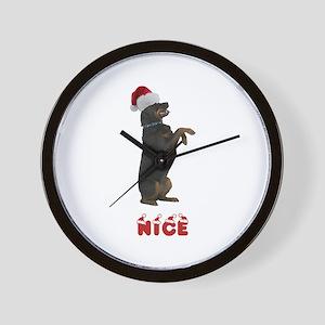 Nice Rottweiler Wall Clock