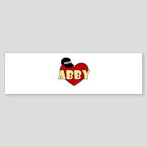 NCIS Abby Sticker (Bumper)