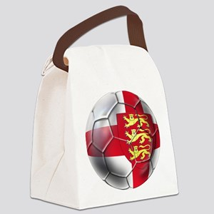 English 3 Lions Football Canvas Lunch Bag