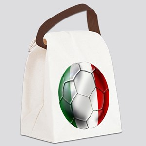 Italy Italia Football Canvas Lunch Bag