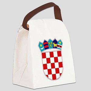 Croatia Hrvatska Emblem Canvas Lunch Bag