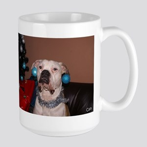 Bulldog Bauble Large Mug