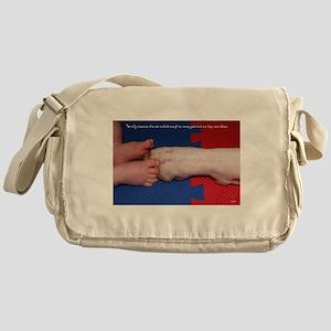 Pitter Patter Paws Messenger Bag