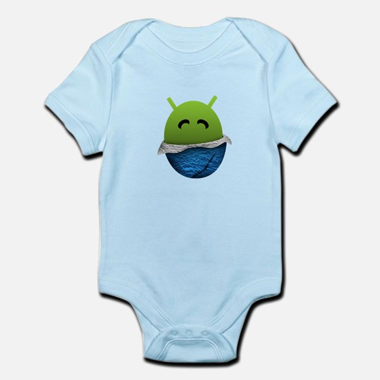 Official Android Unwrapped Gear Infant Bodysuit