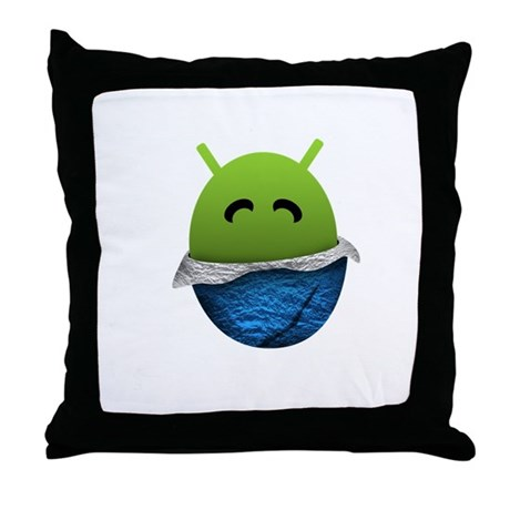 Official Android Unwrapped Gear Throw Pillow