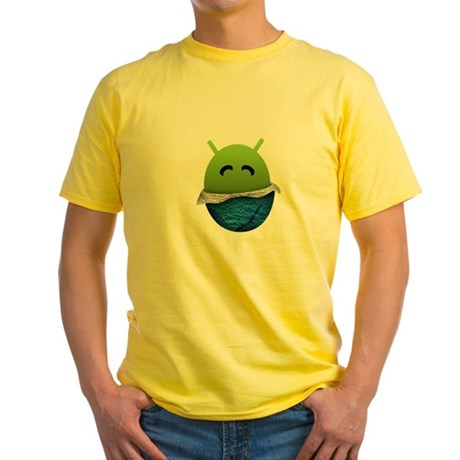 Official Android Unwrapped Gear Yellow T-Shirt