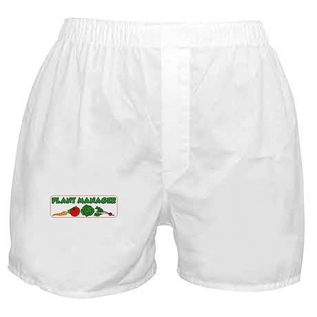 Plant Manager Gardening Boxer Shorts