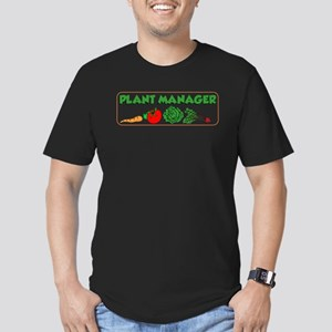 Plant Manager Gardening Men's Fitted T-Shirt (dark