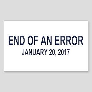 End of an Error Sticker (Rectangle)