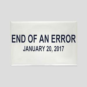 End of an Error Rectangle Magnet