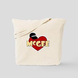 NCIS McGee Tote Bag