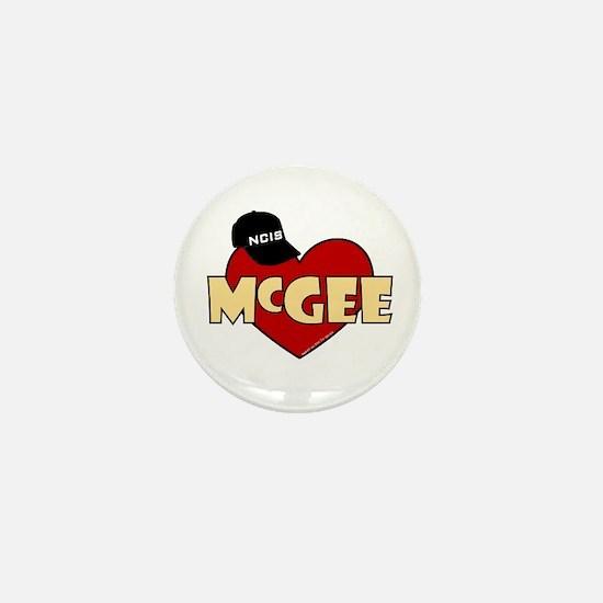 NCIS McGee Mini Button