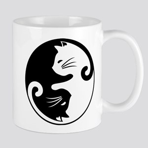 YIN YANG CUTE CATS Mugs