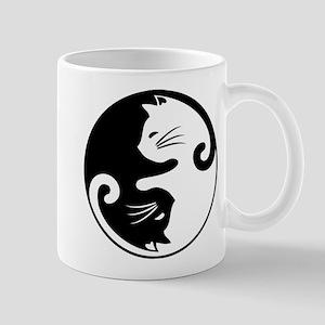 YIN YANG CUTE CATS Mugs