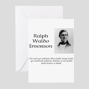 Ralph Waldo Emerson Greeting Cards (Pk of 10)