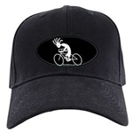 Kokopelli Road Cyclist Black Cap
