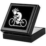 Kokopelli Road Cyclist Keepsake Box